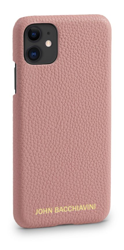 Mandevilla Pink Leather iPhone 11 Case