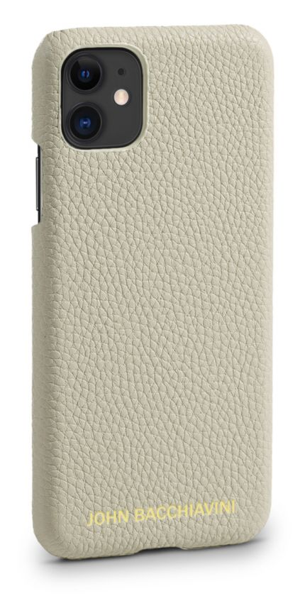 Cannoli Cream Leather iPhone 11 Case