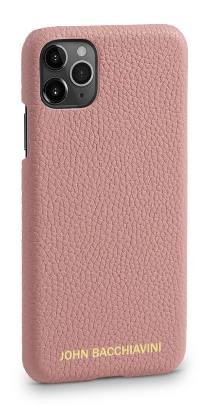 Mandevilla Pink Leather iPhone 11 Pro Case
