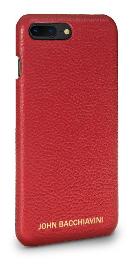 Rafflesia Red Leather iPhone 7/8 Plus Case
