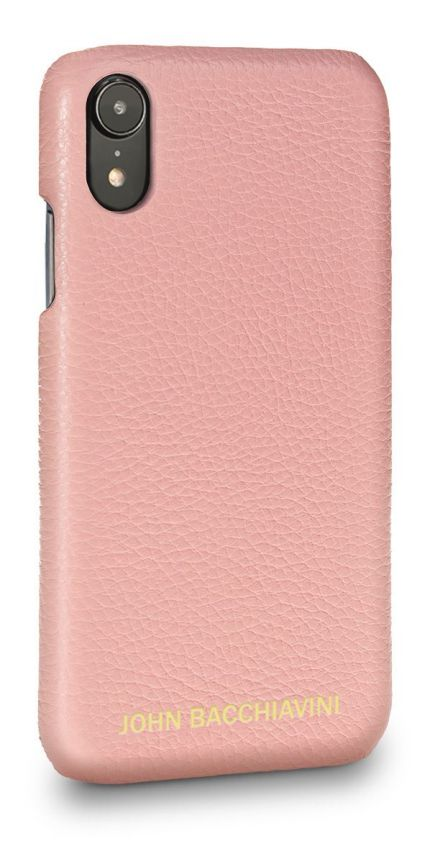 Mandevilla Pink Leather iPhone XR Case