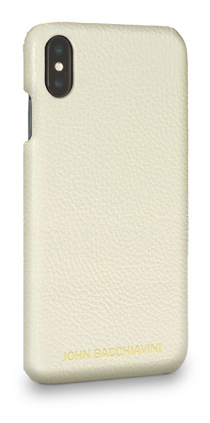 Cannoli Cream Leather iPhone XS MAX Case