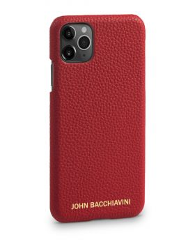 Rafflesia Red Leather iPhone 11 Pro Case