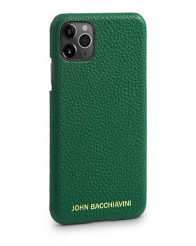 Jadeite Green Leather iPhone 11 Pro MAX Case