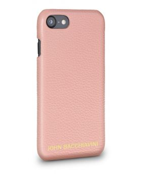 Mandevilla Pink Leather iPhone 7/8 Case