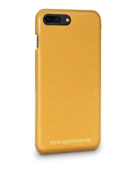 Marigold Yellow Leather iPhone 7/8 Plus Case