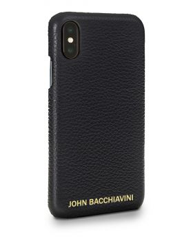 Tartufo Black Leather iPhone X/XS Case