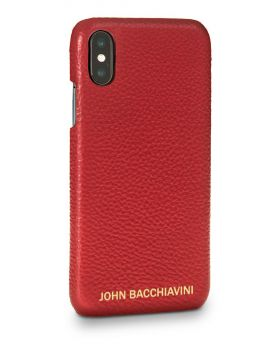 Rafflesia Red Leather iPhone X/XS Case