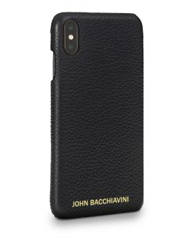 Tartufo Black Leather iPhone XS MAX Case