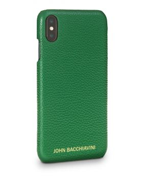 Jadeite Green Leather iPhone XS MAX Case