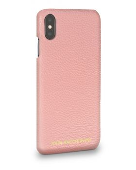 Mandevilla Pink Leather iPhone XS MAX Case