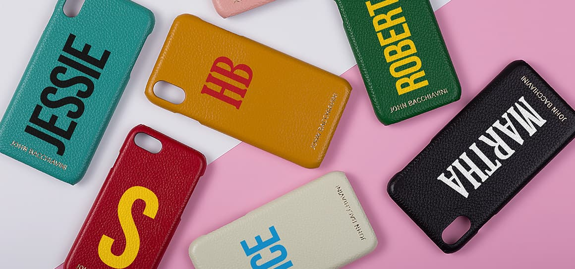 Express Yourself with JOHN BACCHIAVINI Custom Leather Cases